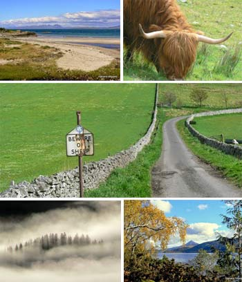 Guided Tours in Highlands Perthshire, Scotland